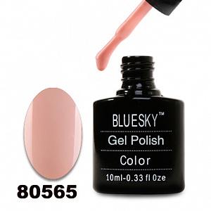 картинка Гель лак  Bluesky 80565-Бежево-розовый магазин Gumla.ru являющийся официальным дистрибьютором в России