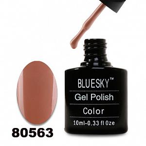 картинка Гель лак  Bluesky 80563-Светло-коричневый магазин Gumla.ru являющийся официальным дистрибьютором в России