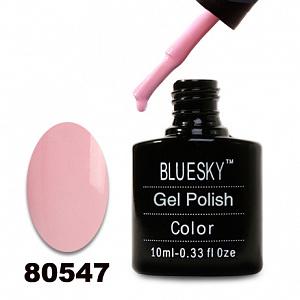 картинка Гель лак  Bluesky 80547-Нежно-розовый,эмаль магазин Gumla.ru являющийся официальным дистрибьютором в России
