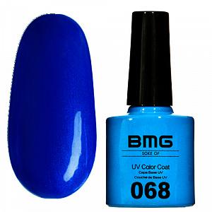 картинка Гель-лак BMG – Глубокий синий магазин Gumla.ru являющийся официальным дистрибьютором в России
