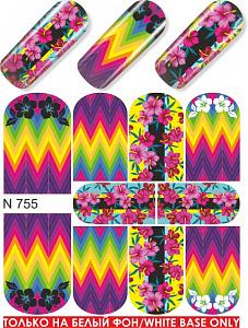 картинка Слайдер дизайн для ногтей 755 магазин Gumla.ru являющийся официальным дистрибьютором в России