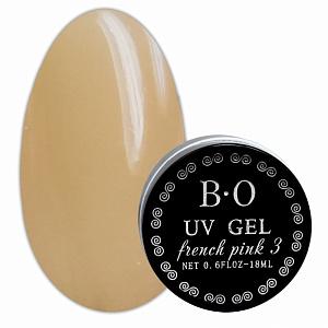 картинка Гель для ногтей B.O (French Pink 3) 18 гр. магазин Gumla.ru являющийся официальным дистрибьютором в России