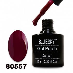 картинка Гель лак  Bluesky 80557-Бордовый,плотный магазин Gumla.ru являющийся официальным дистрибьютором в России