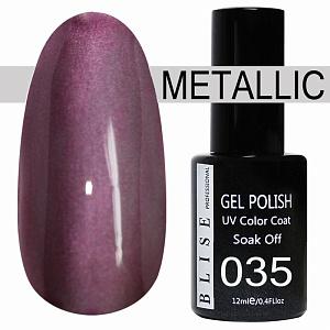 картинка Гель-лак BLISE METALLIС 35 магазин Gumla.ru являющийся официальным дистрибьютором в России