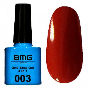 картинка BMG - ONE STEP (однофазный) 7,5 ml. 003 магазин Gumla.ru являющийся официальным дистрибьютором в России