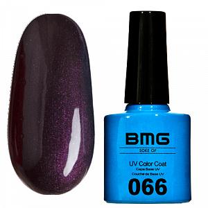 картинка Гель-лак BMG – Насыщенно сливовый с фиолетовым микроблеском магазин Gumla.ru являющийся официальным дистрибьютором в России