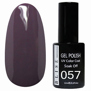 картинка Гель-лак BLISE 057- Фиолетово-серый, плотный магазин Gumla.ru являющийся официальным дистрибьютором в России