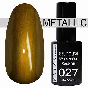 картинка Гель-лак BLISE METALLIС 27 магазин Gumla.ru являющийся официальным дистрибьютором в России