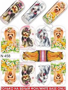 картинка Слайдер дизайн для ногтей 458 магазин Gumla.ru являющийся официальным дистрибьютором в России