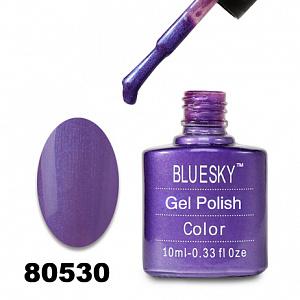 картинка Гель лак  Bluesky 80530-Пурпурный с неоновыми микроблестками магазин Gumla.ru являющийся официальным дистрибьютором в России