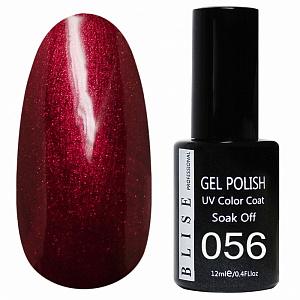 картинка Гель-лак BLISE 056- Светло-вишневый с микроблеском магазин Gumla.ru являющийся официальным дистрибьютором в России