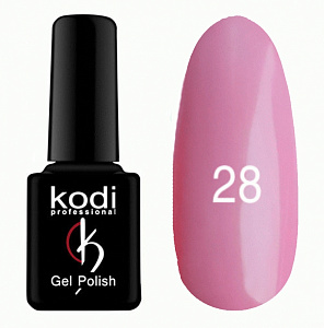 картинка Гель- лак Kodi - №028-Классический розовый 8 ml магазин Gumla.ru являющийся официальным дистрибьютором в России