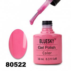 картинка Гель лак  Bluesky 80522-Ярко-розовый магазин Gumla.ru являющийся официальным дистрибьютором в России