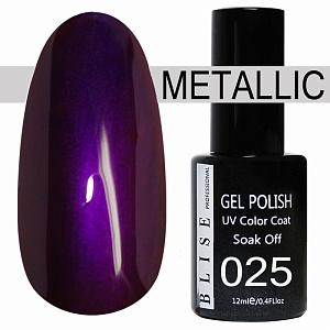 картинка Гель-лак BLISE METALLIС 25 магазин Gumla.ru являющийся официальным дистрибьютором в России