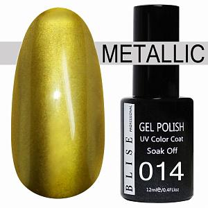 картинка Гель-лак BLISE METALLIС 14 магазин Gumla.ru являющийся официальным дистрибьютором в России